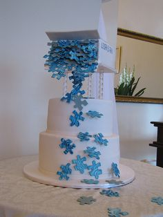 puzzle themed wedding - Google Search