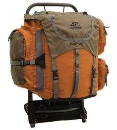 Alps Mountaineering Red Rock External Frame Pack Camping And Hiking efd0390cacb62