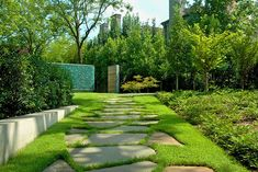 Landscape Architecture by David Hocker.  This the walkway I envision to my front step (on a smaller scale).