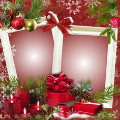 Happy Holidays Christmas Frames, Christmas Design, Christmas Pictures, Christmas Wreaths, Christmas Cards, Holidays And Events, Happy Holidays, 1st Birthday Pictures, Borders For Paper