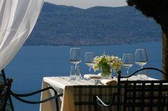 Boutique Hotel Villa Sostaga: Un tavolo in gazebo