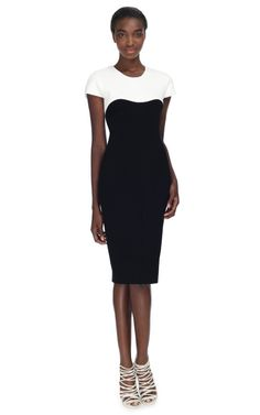 Pebble Crepe Viscose Jersey Dress by Narciso Rodriguez for Preorder on Moda Operandi