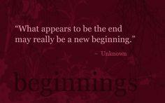 beginnings & ends
