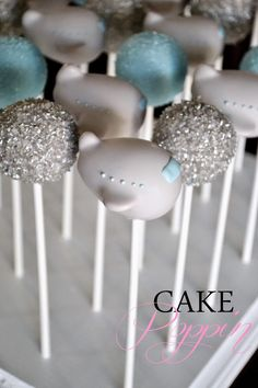 Pint Sized Baker: Vintage Airplane Cake Pops by Cake Poppin