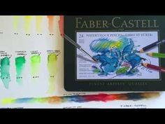 Faber Castell - Albrecht Durer Watercolor Pencils - YouTube