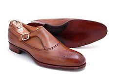 quite unique monk strap Sell Shoes, Men's Shoes, Shoe Boots, Alfred Sargent, Monk Strap Shoes, Sharp Dressed Man, Latest Mens Fashion, Dream Shoes, Gq