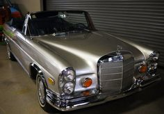 1969 Mercedes Benz 280 SE Convertible  - (Same type of car used in the movie The Hangover)