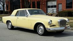 1962 Studebaker Gran Turismo Hawk.