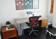 Check out my interview and playlist on Herman Miller's Lifework blog