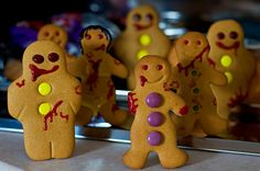 Night of the living gingerbread...how clever are these!