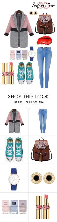 """""""spring"""" by artemisyuri on Polyvore featuring Paige Denim, Nails Inc., Urban Decay and Yves Saint Laurent"""