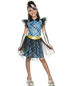 Dazzle with Monster High Frankie Stein Costume Child. Cool Ideas of Monster High Costumes for Halloween at PartyBell. Halloween Wigs, Toddler Halloween Costumes, Halloween Fancy Dress, Halloween Parties, Fantasia Monster High, Festa Monster High, Blue Costumes, Girl Costumes, Costumes For Women
