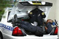 Officers can go days without going home. (Source: Law Enforcement Today)