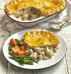 Quorn Gluten Free Chicken and Mushroom Pie. Enjoy a tasty Chicken and Mushroom…