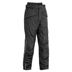 FirstGear HT Overpants Men's Textile On-Road Motorcycle Pants - Black / Size 40 Motorcycle Riding Pants, Riding Gear, Motorcycle Outfit, St G, Snowboard Pants, Mens Gear, Black Pants, Parachute Pants, Textiles