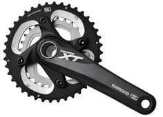 New Shimano XT M785 MTB Bike Double Chainset - 175mm x 26/38 £56.00