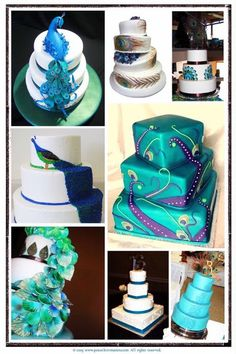 peacock wedding cake ideas peacock-wedding
