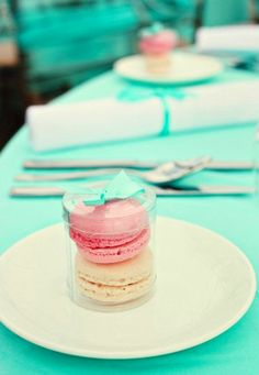 macarons--sophisticated treat for guests at weddings, showers, bachelorettes, etc