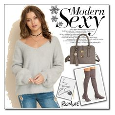"""ROMWE 9"" by woman-1979 ❤ liked on Polyvore"