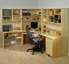 corner desk with hutch Small Home Office Furniture (3)