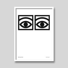 Cacao Eyes by Olle Eksell Art Print