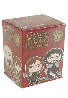 11/27/2016 -- Funko Game of Thrones Mystery Mini Blind Box. Only $3.73! :)