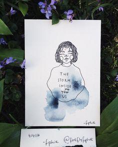 "singsongdingdongpingpong: ""#artbyfiphie Copyright Sophie Neuendorff, 2016 by fireflyfiphie http://ift.tt/200J9L6 "" Follow me on Instagram @ fireflyfiphie for more poetic shit & weird art"