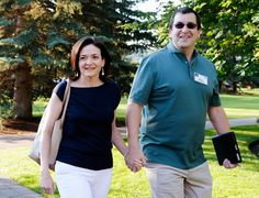 "The late chief executive of SurveyMonkey and husband of the Facebook executive Sheryl Sandberg was raised around ""woman power"" and was an avid supporter of female achievement."