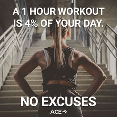 No excuses period!!!