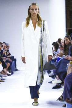 Colangelo is also the creative director behind Giada, founded in Milan in 2001. He joined the house last year, tapped for his minimalist approach, which played out to really quite lovely effec...