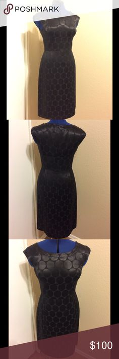 🆕LISTING🆕 BANANA REPUBLIC cocktail dress Banana republic black cocktail dress with fun subtle detail. Worn once for a special occasion then sat in my closet!! Banana Republic Dresses Midi