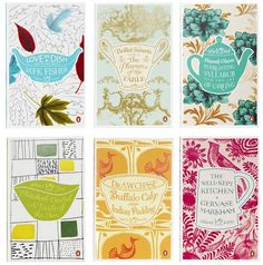 Like this series penguin book covers - nice pairing of illustration and appropriate typography/lettering