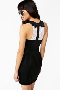 Alexa Bow Dress by Nasty Gal   $48.00