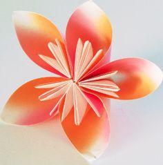 Origami Flower Tutorial | AllFreeDIYWeddings.com