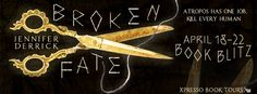 Broken Fate byJennifer Derrick Published by:Clean Teen Publishing Publication date: April 18th 2016 Genres:Mythology,Romance,Young Adult Purchase: Amazon | B&N | Kobo | iTunes