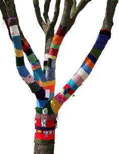 Knit Knot Tree -