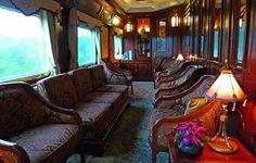 The E&O's saloon car, reading room & library