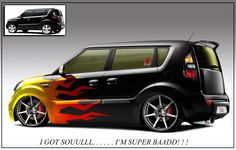 custom #Kia Soul paint job ... | Cool Cars | Pinterest ...