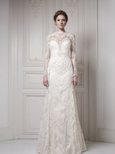 Sexy Yet Elegant Ersa Atelier Wedding Dresses 2014 Bridal Collection. To see more: http://www.modwedding.com/2014/01/25/glamorous-ersa-atelier-wedding-dresses-2014-bridal-collection/ #wedding #weddings #fashion