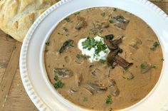 To-Die-For Rustic Hungarian Mushroom Soup
