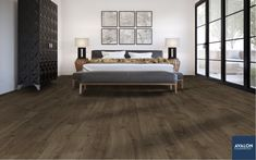 "AquaPrime 6 1/8"" Waterproof Laminate Flooring 