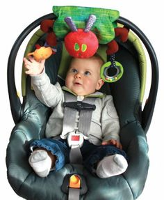 The World of Eric Carle: Wrap-Around Developmental Toy by Kids Preferred by Kids Preferred. $11.99. From the Manufacturer                Kids preferred wrap around development toy easily attaches to a stroller or carrier and can adjust into a blanket toy, a handy transformation when heading for grandma and grandpa's house without having to leave a soothing friend behind. Hand washable, attached ring rattles and the sun crinkles when squeezed. Understanding the...