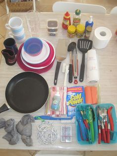 Living on a Latte: My Camping Kitchen Boxes