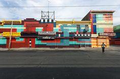 Credit: Steve Weinik/City of Philadelphia Mural Arts Program Philly Painting, 2500–2800 Germantown Avenue Mural Arts f...