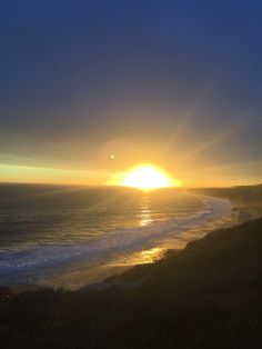 Sunset Laguna Beach California