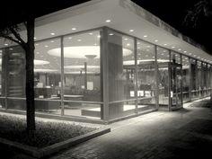 Eero Saarinen, Union Bank and Trust,  Columbus, Indiana, 1954