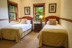 Twin Room in the Family Cottage at Dune Ridge Country Lodge