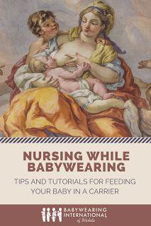 Babywearing International of Wichita: 2017 World Breastfeeding Week: Nursing While Babywearing