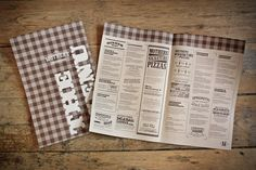 Menus, table talkers and various collateral/promo materials for Mother's Pizza. Creative directors on this job: Mike Kelar and Mikey Richardson of Jacknife.