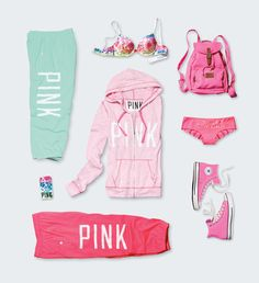 Chill out in light-as-air layers #VSPINK #MadeForSummer #Pastel